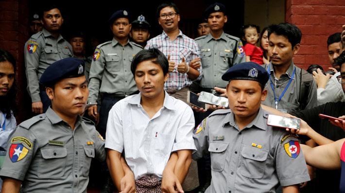 Periodistas encarcelados en Myanmar continuarán en prisión luego de que se les rechazara recurso de apelación