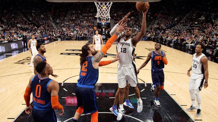 El increíble partido con más de 300 puntos entre San Antonio y Oklahoma City en la NBA