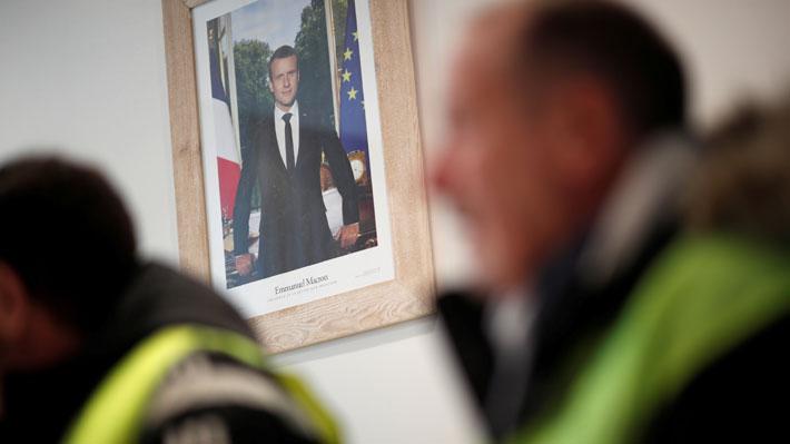 Francia anuncia que Macron no asistirá al Foro Económico Mundial de Davos