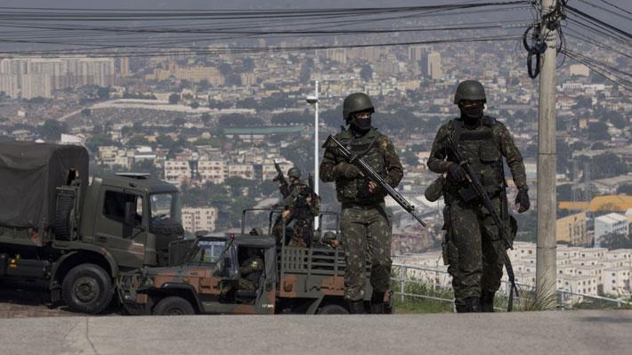 Violencia en Brasil: Río de Janeiro registró 61% más de tiroteos durante el año 2018