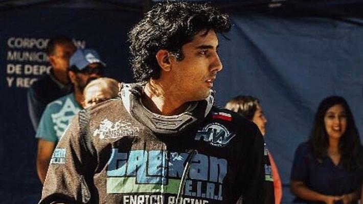 La terrible jornada que dejó fuera del Dakar a Giovanni Enrico, el chileno que brillaba en los quads