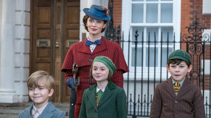 """""""El regreso de Mary Poppins"""" destaca gracias a la actuación de Emily Blunt, pero le hace falta emotividad"""