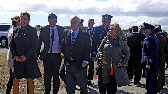 """Piñera plantea """"rol estelar"""" para Magallanes y la Antártica durante cumbres de la Apec y el COP25"""