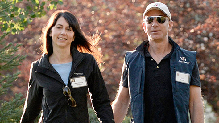 Jeff y MacKenzie Bezos pasarán a formar parte de los diez divorcios más caros de la historia