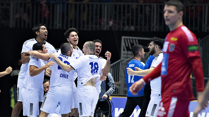 Revisa el último gol y la emotiva celebración de Chile tras lograr histórico triunfo frente a Austria en el Mundial de Balonmano