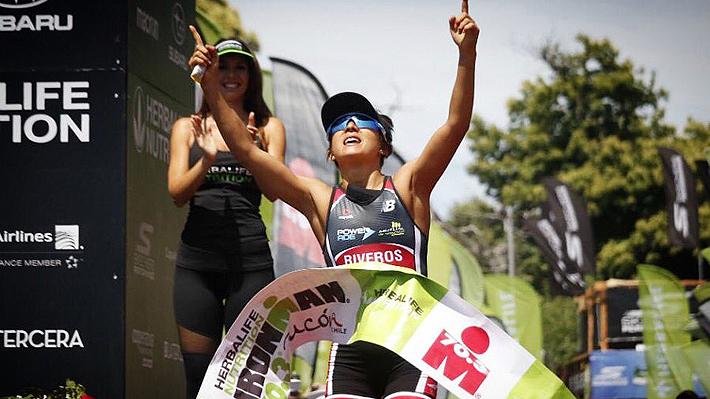 Bárbara Riveros sigue imbatible y gana por quinta vez consecutiva el Ironman de Pucón 70.3