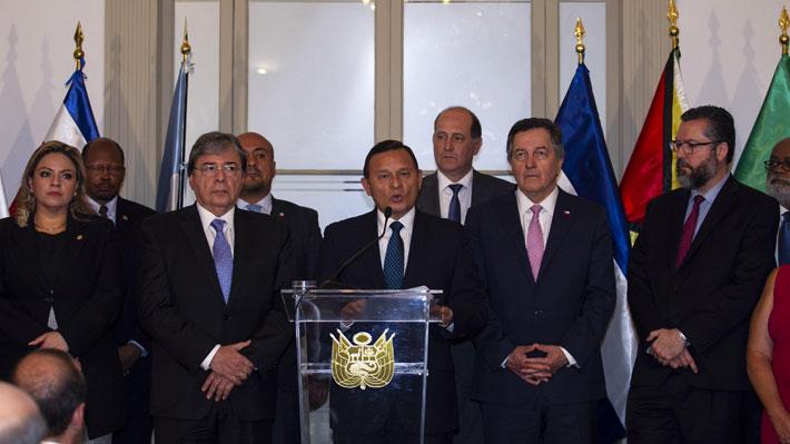 "Grupo de Lima repudia detención ""arbitraria"" de Juan Guaidó en Venezuela"