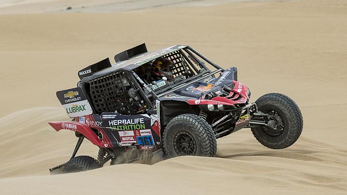 Ignacio Casale abandona el Dakar en la sexta etapa de UTV por problemas mecánicos