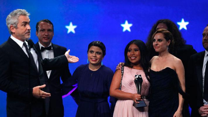 "Critics' Choice Awards: ""Roma"" se corona como la primera producción de no habla inglesa que gana como Mejor Película"