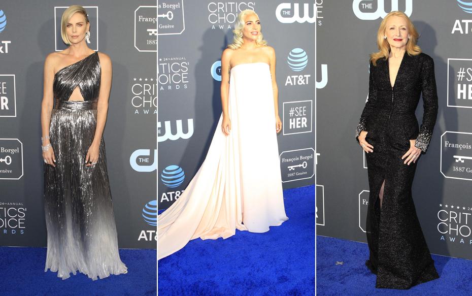 Galería: Los looks más llamativos de la alfombra azul de los Critics' Choice Awards