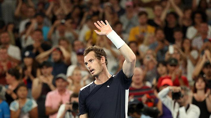 Murray se va del Abierto de Australia jugando un partidazo, muy emocionado y admitiendo que pudo ser su último partido