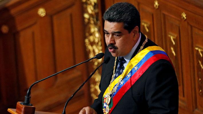 """Maduro insiste en calificar como """"show mediático"""" la detención sufrida por Juan Guaidó"""