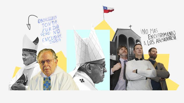 De las renuncias al nuevo viaje al Vaticano: Los últimos ocho meses de crisis en la Iglesia católica chilena
