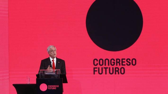 Sebastián Piñera inaugura Congreso Futuro destacando próximos desafíos para Chile
