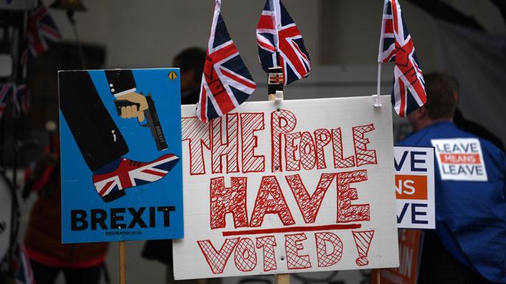 Desilusión y nuevo referéndum: Los sentimientos e ideas que rodean a los británicos de cara al Brexit