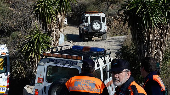 España: Rescatistas abren un túnel para hallar a niño desaparecido que habría caído a un pozo