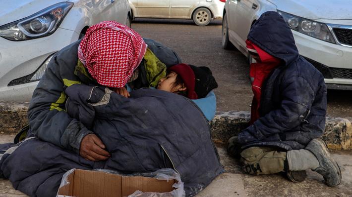 Al menos 15 niños mueren de hipotermia mientras huían de la guerra en Siria
