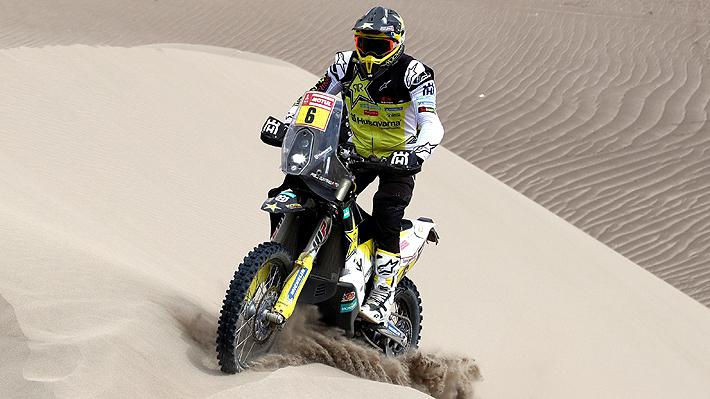 Quintanilla queda a 1 minuto del liderato de las motos a dos etapas del final del Dakar 2019