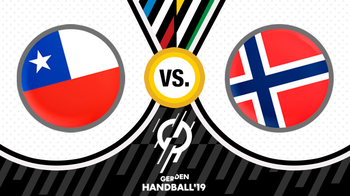 Repase el resultado de la derrota de Chile ante Noruega en el Mundial de Balonmano