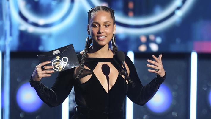 Alicia Keys será la presentadora de los Premios Grammy 2019