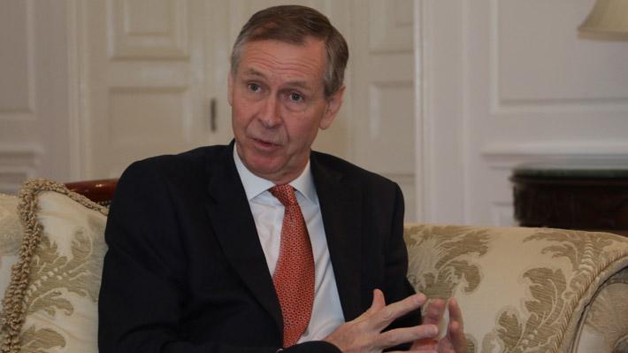 """Embajador de Reino Unido y rechazo de acuerdo sobre el Brexit: """"No habrá interrupción en las relaciones comerciales con Chile"""""""