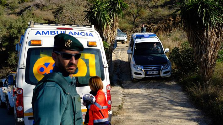 Confirman que niño de dos años cayó a un pozo en España tras hallar restos biológicos