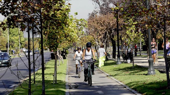 Estudio detecta que la mitad de los ciclistas en Santiago circula a una velocidad sobre 20 kilómetros por hora