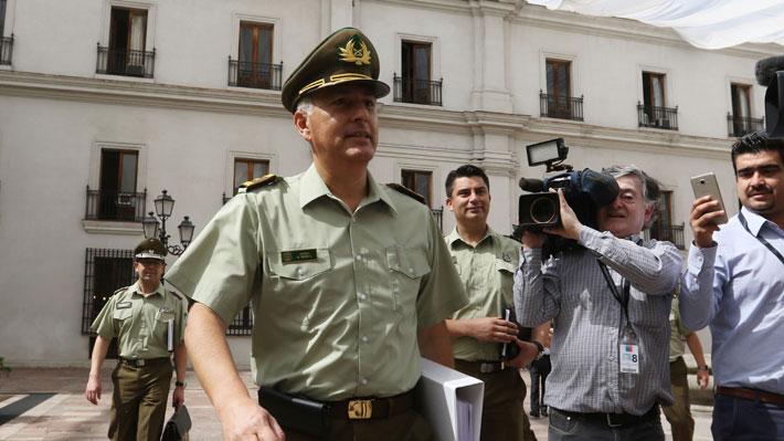 """General Rozas tras visita a La Araucanía: """"Nuestros carabineros están bastante comprometidos"""""""