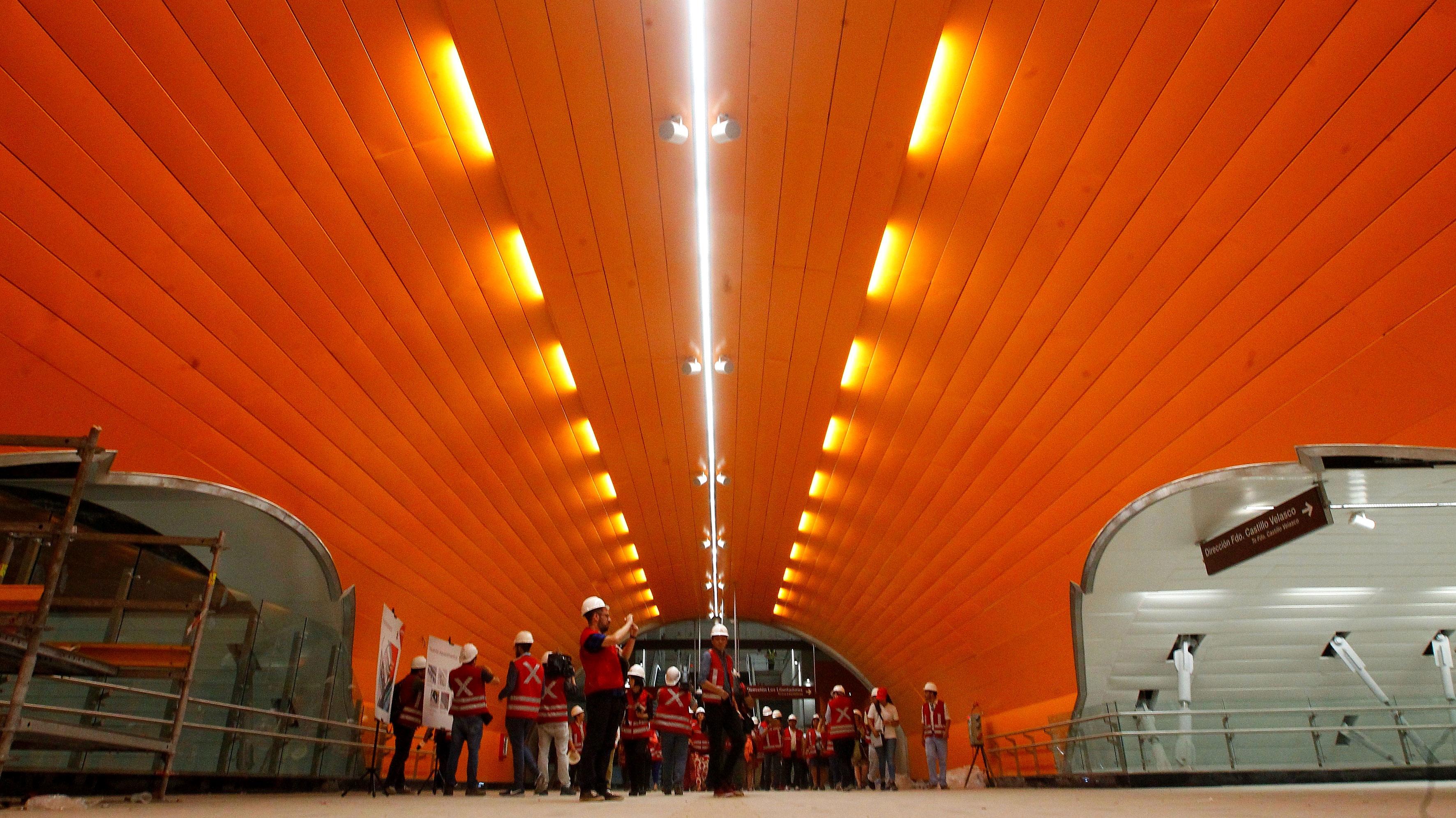 Cinco hitos que traerá a Santiago la apertura de la Línea 3 de Metro
