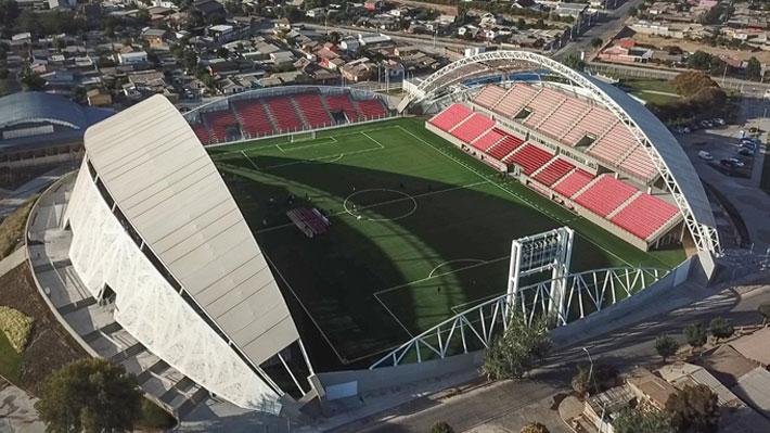 Mira las primeras imágenes del nuevo estadio Nicolás Chahuán inaugurado en La Calera