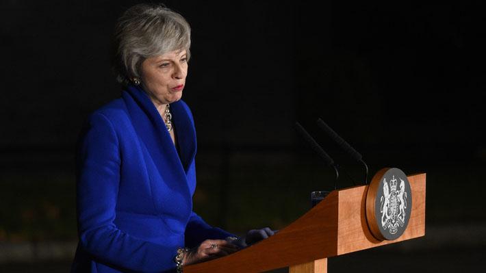 """Theresa May pide anteponer el """"interés nacional"""" para lograr un """"consenso"""" sobre el Brexit"""