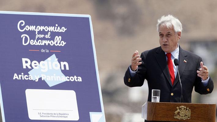 """Piñera vuelve a defender """"Admisión Justa"""" en gira por el norte y plantea preguntas centrales sobre el sistema"""