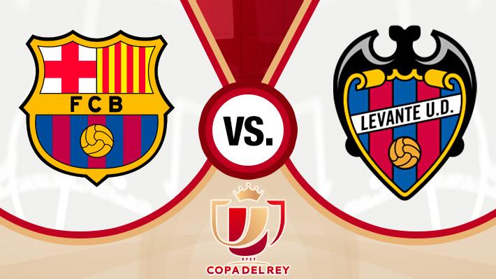 Reviva el gran triunfo del Barcelona sobre el Levante por la Copa del Rey