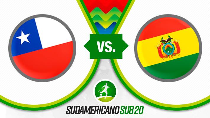 Repase el empate de Chile con Bolivia en su debut en el Sudamericano Sub 20