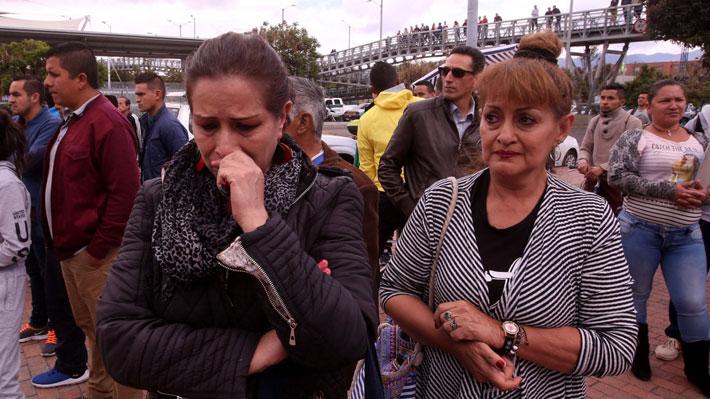 """El relato de los testigos del atentado explosivo en Colombia: """"Quedó todo vuelto nada"""""""
