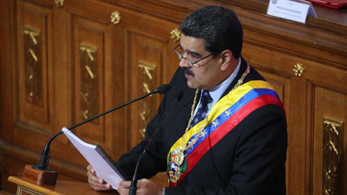 """Nicolás Maduro llama a la calma en Venezuela: """"Yo fui al futuro y volví y vi que todo sale bien"""""""