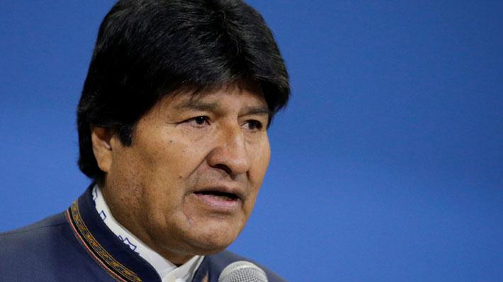 Oposición pide aplicar Carta Democrática a Bolivia por candidatura de Morales
