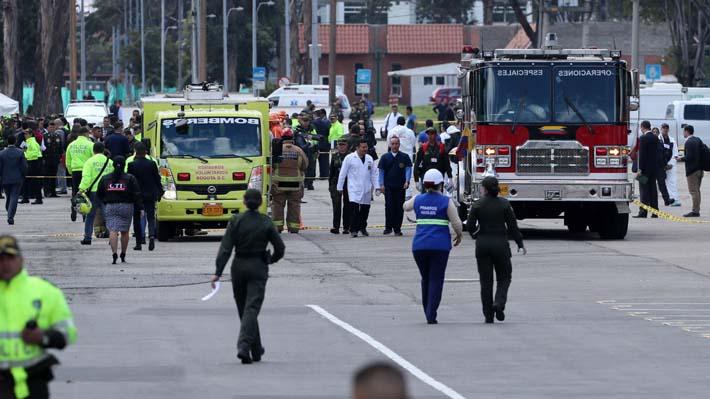 Policía colombiana confirma que atentado en Bogotá ha dejado al menos 21 fallecidos