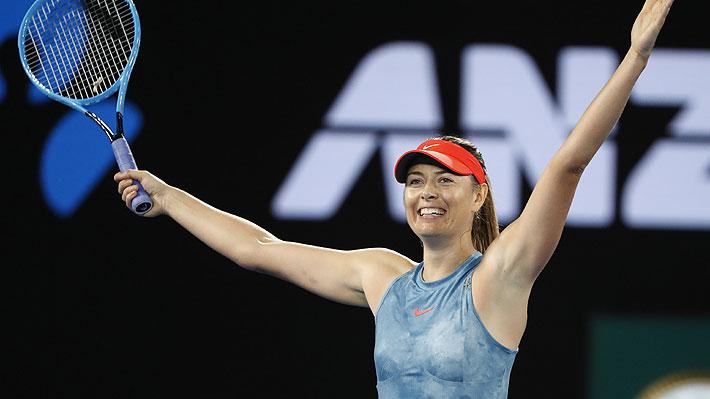 Mira los mejores puntos con los que Sharapova derrotó en un partidazo a la campeona defensora del Abierto de Australia