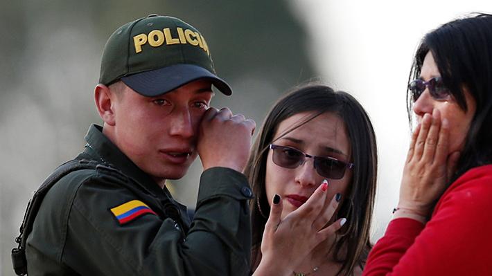Galería: Atentado terrorista conmociona a Colombia haciendo recordar su época más violenta
