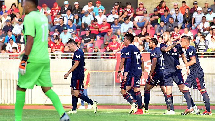 La U volvió a golear en partido amistoso y Kudelka ya va perfilando su formación titular con cinco refuerzos