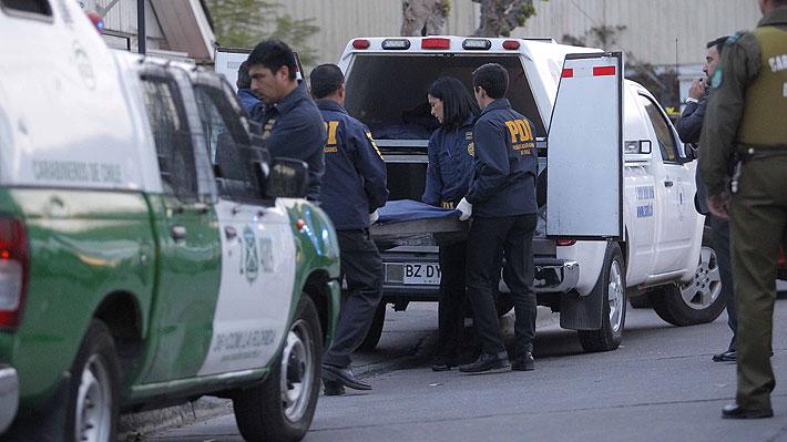 Sujeto mata al hijo de su pareja y luego se entrega a Carabineros en Peñalolén