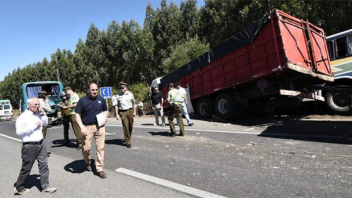 Gobierno invocará Ley de Seguridad del Estado por interrupción del tránsito que terminó con fatal accidente en Ruta 5 Sur