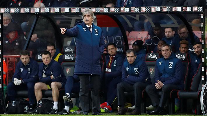 El West Ham cae por Premier en duelo marcado por decisión de Pellegrini de dejar fuera a una de sus figuras