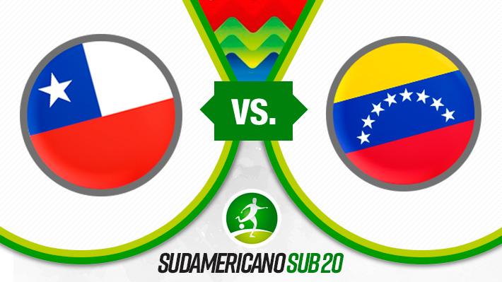 Repase la nueva derrota de Chile en el Sudamericano Sub 20