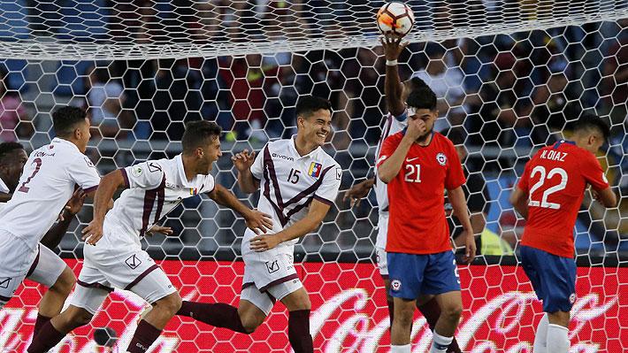 Chile otra vez muestra poco y nada, cae ante Venezuela y se complica enormemente en el Sudamericano Sub 20