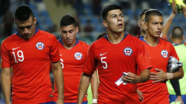 Mira lo complicado que quedó Chile en su grupo y los duros partidos que le restan en el Sudamericano Sub 20