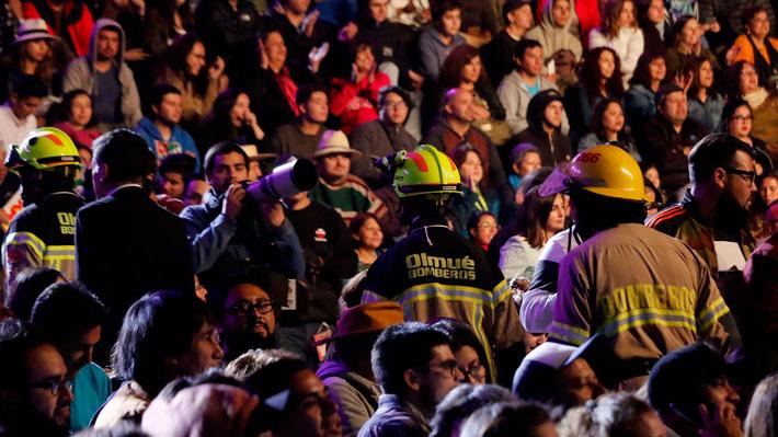 El inconveniente en El Patagual que interrumpió la rutina de Chiqui Aguayo en el Festival de Olmué