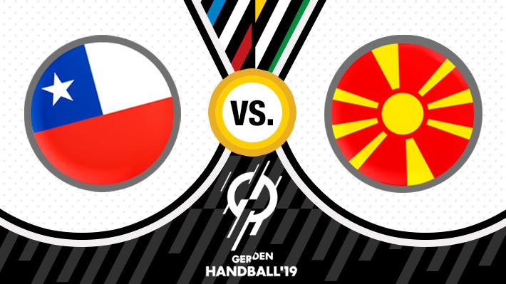 Repase el marcador del partidazo de Chile ante Macedonia en el Mundial de Balonmano