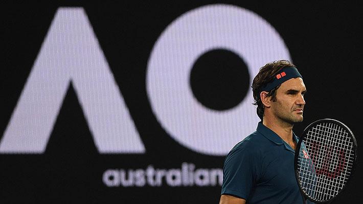 Golpe en el Abierto de Australia: Federer es eliminado por jugador de 20 años